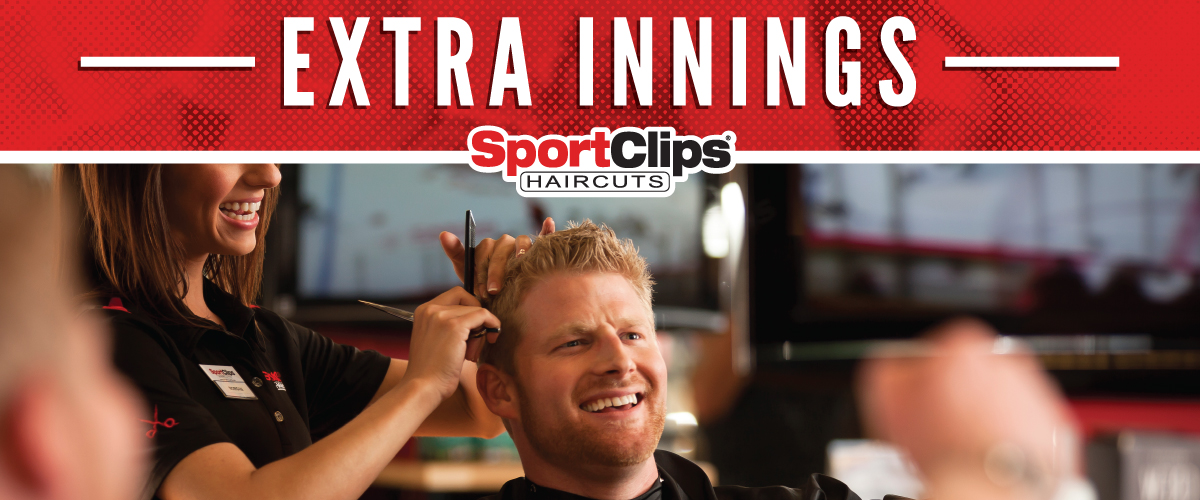 The Sport Clips Haircuts of Lubbock Extra Innings Offerings