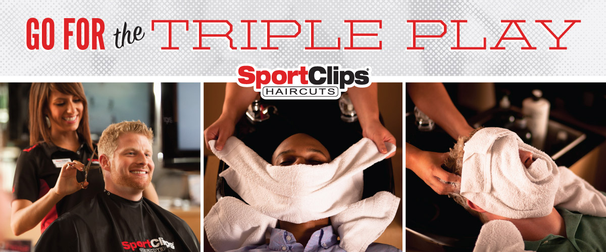 The Sport Clips Haircuts of Lubbock Triple Play