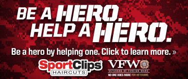 Sport Clips Lubbock​ Help a Hero Campaign